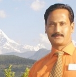 Profile image of tour guide Anil Manandhar