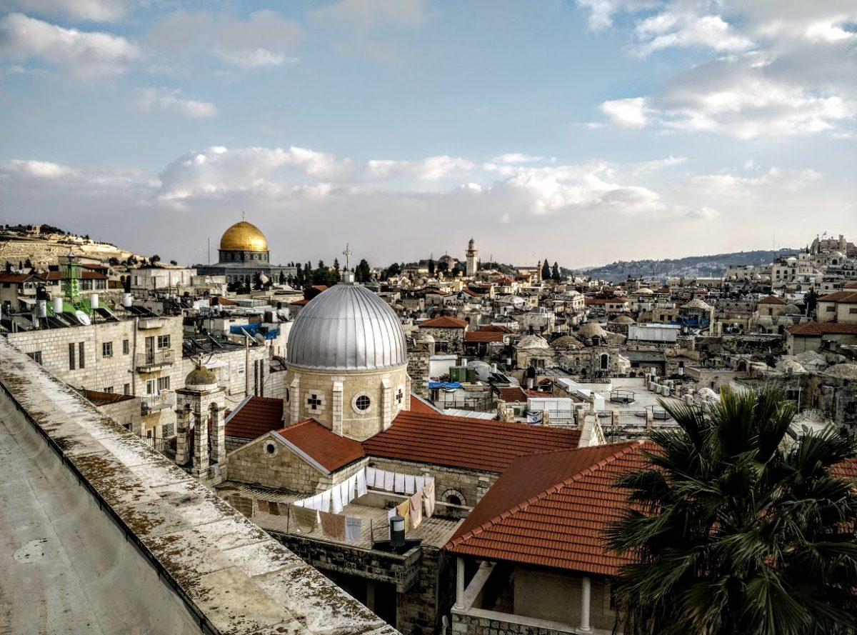 View from Austrian Hospice, Old City Jerusalem