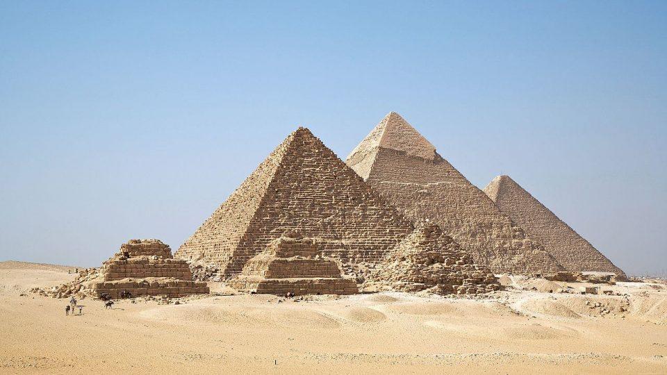 cairo egypt pyramids of ghiza