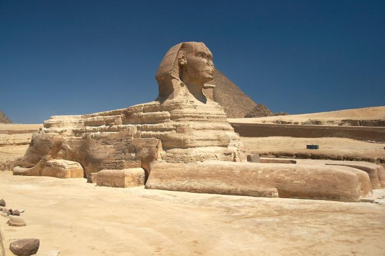 Cairo Sphinx Pyramids
