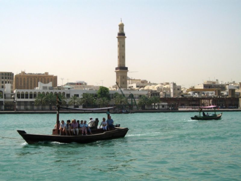 abra water taxi in Dubai