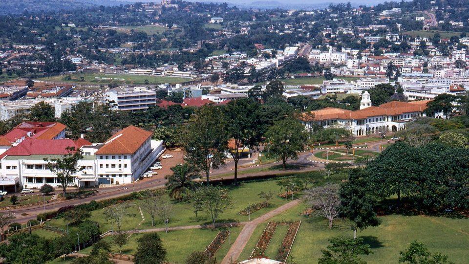 View off Kampala, Uganda