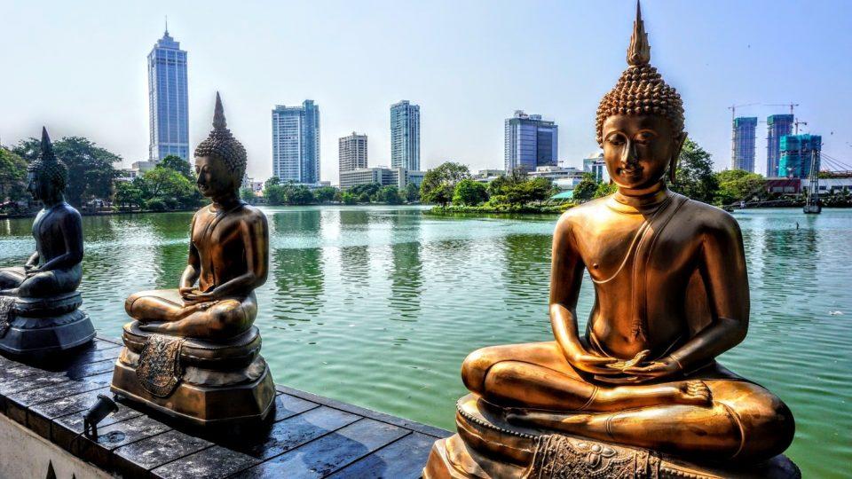 Buddha's in Colomboa, Sri Lanka