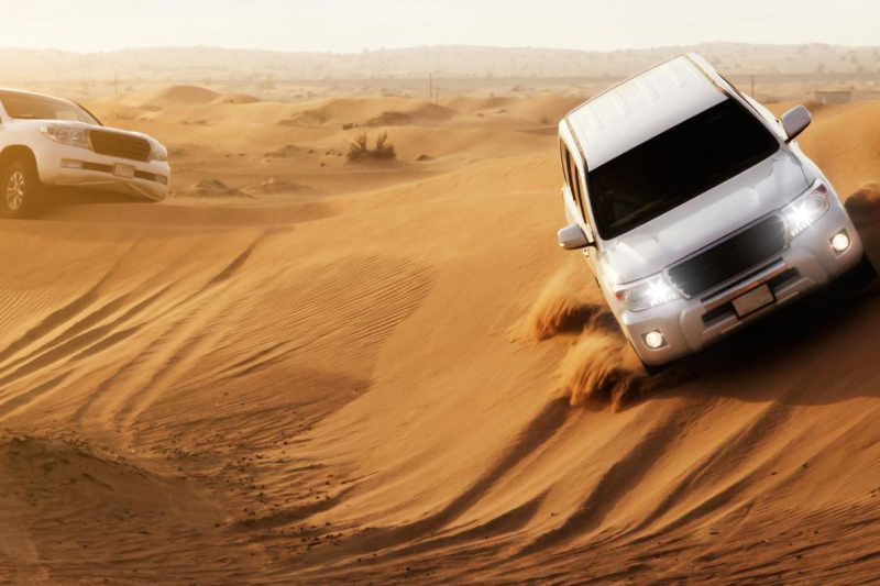 Desert Safari Jeep Dubai