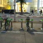 Tel-o-fun, the green bikes in Tel Aviv